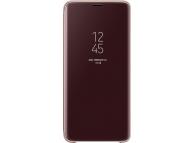 Husa plastic Samsung Galaxy S9 G960 Clear View EF-ZG960CFEGWW Aurie Blister Originala