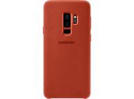 Husa Samsung Galaxy S9+ G965 Alcantara EF-XG965AREGWW Rosie Blister Originala
