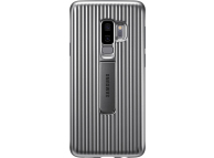 Husa Plastic Samsung Galaxy S9+ G965 Standing EF-RG965CSEGWW Argintie Blister Originala