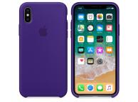 Husa silicon TPU Apple iPhone X MQT72ZM mov Blister Originala