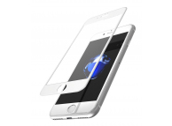 Folie Protectie ecran antisoc Apple iPhone 6 Plus Tempered Glass 9H Full Face alba Blister