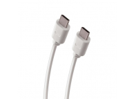 Cablu Date si Incarcare USB Type-C la USB Type-C  Forever alb Blister