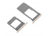 Set Suport SIM si card MicroSD Samsung Galaxy A5 (2017) A520 auriu