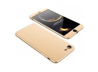 Husa plastic Apple iPhone 7 Plus Full Cover aurie