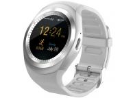 Ceas Bluetooth SmartWatch Star Y1 MTK6261 cu sim Alb Blister