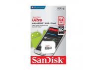 Card memorie SanDisk Ultra MicroSDXC 64GB Clasa 10 UHS-1 Blister