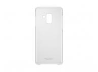 Husa plastic Samsung Galaxy A8 (2018) A530 Clear Cover EF-QA530CTEGWW Transparenta Blister Originala