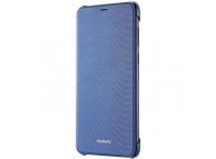 Husa piele Huawei P smart Flip 51992276 Albastra Blister Originala