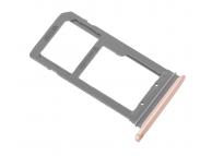 Suport sim si card MicroSD Samsung Galaxy S7 edge G935 auriu
