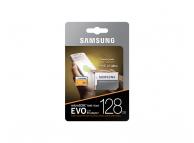 Card memorie Samsung EVO MicroSDXC 128GB Clasa 10 UHS-1 Blister