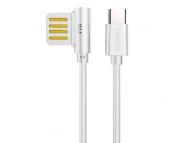 Cablu de date USB Type-C Remax Rayen RC-075a 1m Alb Blister Original