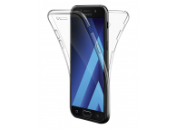 Husa silicon TPU Samsung Galaxy Note8 N950 Full Cover Transparenta