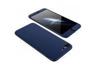 Husa plastic Apple iPhone 7 Plus Full Cover Bleumarin