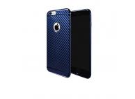 Husa plastic Samsung Galaxy S8 G950 HOCO Carbon Bleumarin Blister Originala