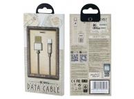 Cablu incarcare USB la Lightning, Remax RC-095i Gravity, Magnetic, 1m, Gri