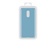 Husa silicon TPU Xiaomi Redmi 5 Molan Cano Jelly Albastra Blister Originala