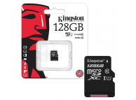 Card memorie Kingston MicroSDXC 128GB Clasa 10 fara adaptor Blister