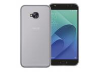 Husa silicon TPU + Folie Ecran Plastic Phonix Pentru Asus Zenfone 4 Selfie Pro ZD552KL Transparenta Blister AS4SPGPW