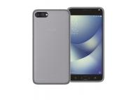 Husa silicon TPU + Folie Ecran Plastic Phonix Pentru Asus Zenfone 4 Max ZC554KL Transparenta Blister ASZM4GPW