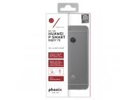 Husa silicon TPU Huawei P smart Phonix HUPSMGPW Transparenta Blister Originala