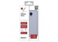 Husa silicon TPU Meizu M5c Phonix MZM5CGPW Transparenta Blister Originala
