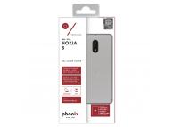 Husa silicon TPU Nokia 6 Phonix NK6GPW Transparenta Blister Originala