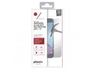 Folie Protectie ecran antisoc Samsung Galaxy J3 (2017) J330 Phonix Tempered Glass Blister Originala