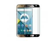 Folie Protectie ecran antisoc Samsung Galaxy S7 edge G935 Phonix Tempered Glass Full Face Neagra Blister Originala