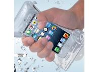 Husa Universala Waterproof Phonix Pentru Telefon 95mm x 158mm Transparenta Blister Originala