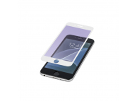 Folie Protectie ecran Antibluelight Apple iPhone X Tempered Glass Full Face Alba Blister