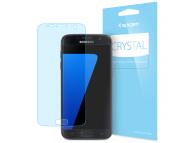 Set Folie Protectie ecran Samsung Galaxy S7 G930 Spigen (3 bucati) Original