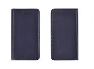 Husa piele universala telefon 5 inci Magnetic Book bleumarin