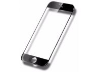 Folie Protectie ecran antisoc Apple iPhone 6 Tempered Glass Full Face 5D neagra Blister Originala