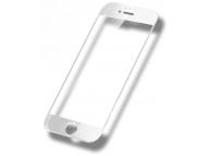 Folie Protectie ecran antisoc Apple iPhone 6 Tempered Glass Full Face 5D alba Blister Originala