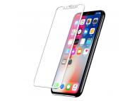 Folie Protectie ecran antisoc Apple iPhone X Tempered Glass Full Face 5D alba Blister Originala