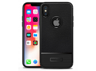 Husa silicon TPU Apple iPhone X Litchi Rugged