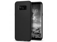 Husa silicon TPU Samsung Galaxy S8 G950 Spigen Liquid Crystal 565CS21613 Blister Originala