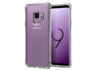 Husa silicon TPU Samsung Galaxy S9 G960 Spigen Rugged Crystal 592CS22835 Transparenta Blister Originala