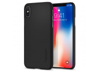 Husa Plastic Apple iPhone X Spigen Thin Fit 057CS22108 Blister Originala
