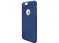 Husa plastic Apple iPhone 7 Plus HOCO Carbon Shadow Albastra Blister Originala