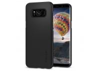 Husa plastic Samsung Galaxy S8+ G955 Spigen Thin Fit 571CS21676 Blister Originala
