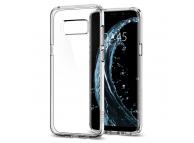 Husa Samsung Galaxy S8 G950 Spigen Ultra Hybrid Crystal 565CS21631 Transparenta Blister Originala