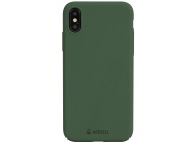 Husa plastic Apple iPhone X Krusell Sandby Verde Blister Originala