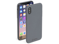 Husa plastic Apple iPhone X Krusell Sandby Gri Blister Originala