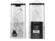 Handsfree Bluetooth HOCO E5 Alb Blister Original