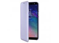 Husa Piele Samsung Galaxy A6 (2018) A600 Flip Wallet EF-WA600CVEGWW Mov Blister Originala
