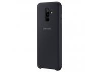 Husa plastic Samsung Galaxy A6+ (2018) A605 Dual Layer EF-PA605CBEGWW Blister Originala
