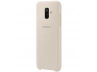 Husa plastic Samsung Galaxy A6 (2018) A600 Dual Layer EF-PA600CFEGWW Aurie Blister Originala