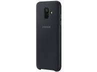 Husa plastic Samsung Galaxy A6 (2018) A600 Dual Layer EF-PA600CBEGWW Blister Originala