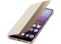 Husa Huawei P20, Smart View Flip, Roz, Blister 51992357